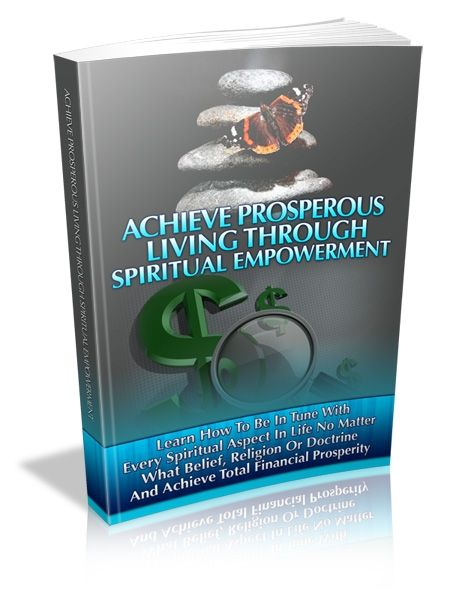 Achieve Prosperous Living Through Spiritual Empowerment (PLR)