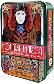 Aquarian tarot tin by Palladini, David