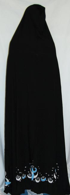 Moon Goddess Black Cape